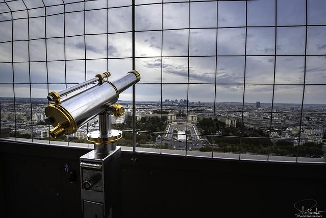 Special view from Tour Eiffel - Paris - France