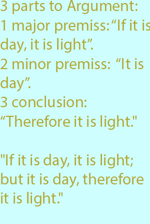 7-1  therefore  it is light.""
