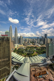 Kuala Lumpur Skyline With Blue Sky and Cloud Formation | by Mohamad Zaidi Photography