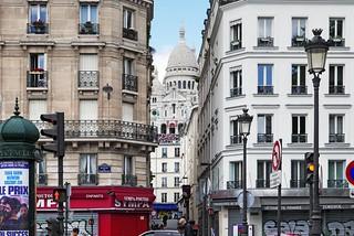 La Basilique du Sacré Coeur de Montmartre à Paris