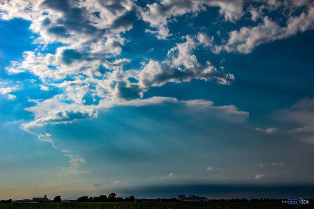 070714 - Late Afternoon Nebraska Thunderstorms 003 (Remastered)