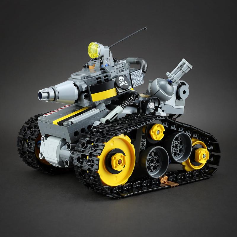 [MOC分享] Lego Technic Tank