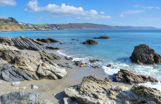 Hannafore Beach, West Looe, Cornwall