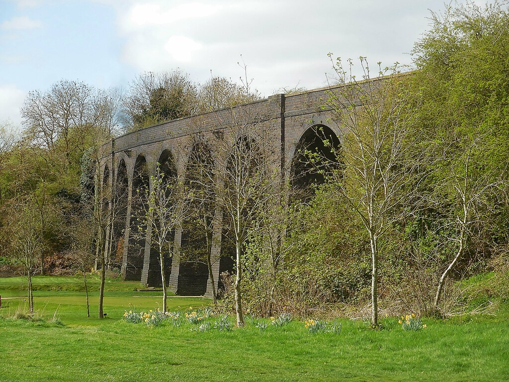 Rugby Market Harborough Line Viaduct At Rugby Golf Course Flickr