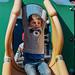 Wilfie on the slide