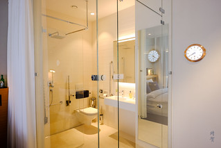 Open shower area | by A. Wee