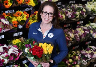 Tesco donates unsold valentines day flowers to local good causes | by Tesco PLC