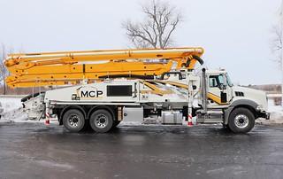 MCP Concrete Pumping, LLC Truck