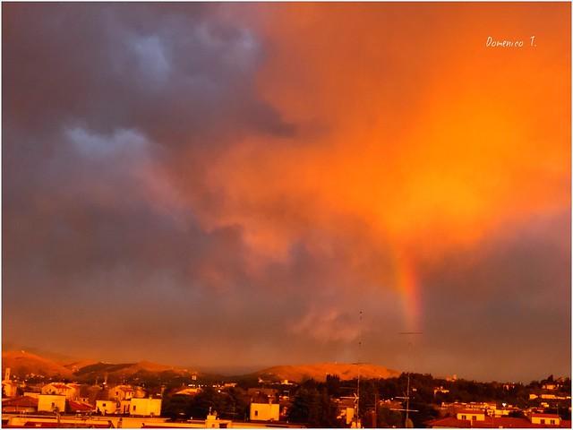 Nube di fuoco - Fire cloud