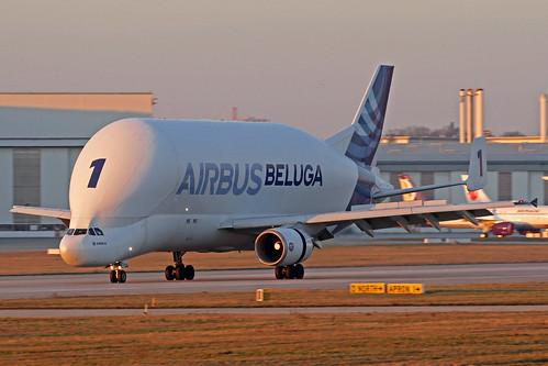 Airbus Transport International Airbus A300-608ST Beluga F-GSTA XFW 25-02-19 | by Axel J.