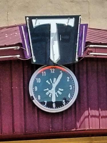 oklahoma haskellcounty stigler movietheater theater theatre clock