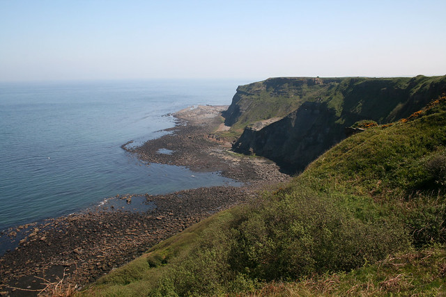 View back to Sandsend Ness
