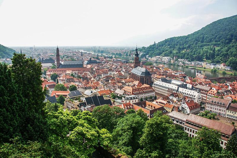 海德堡城堡俯瞰老城區 5