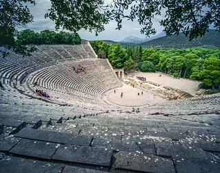 Epidaurus, the Theater | by Giovanni C.