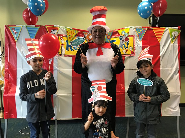 Hayward Public Library Celebrates Read Across America Day - March 2019