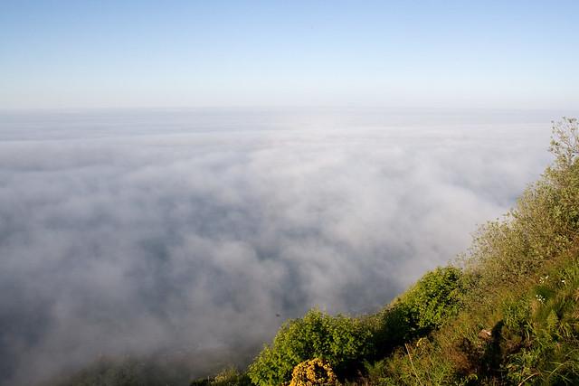 Sea mist from Ravenscar