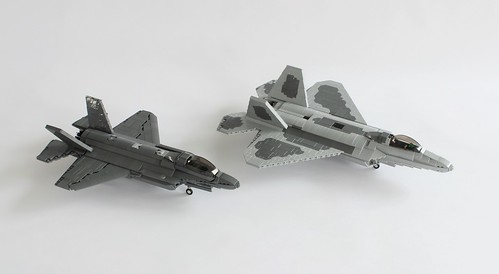 F-35 and F-22
