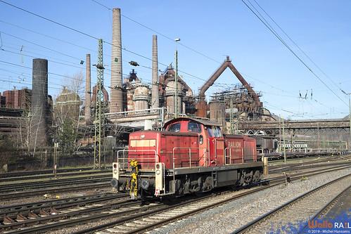 294 883 DB Cargo . Völklingen . 21.03.19.