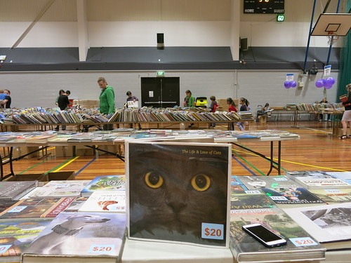 Big Bargain Book Sale preview at Pioneer Recreation and Sport Centre
