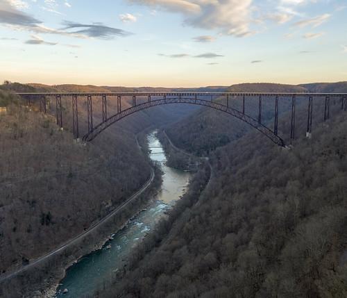 new river gorge summersville wv jump parachute bungee bridge day
