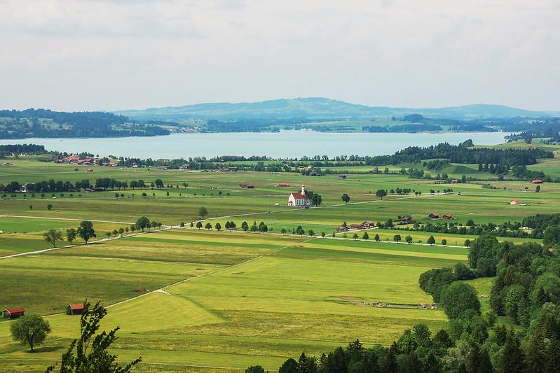 新天鵝堡北眺福爾根湖(Illasbergsee) 2