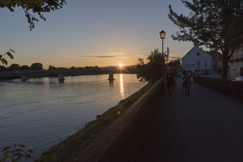 slovenia travel ptuj sunset river drava d750 nikon