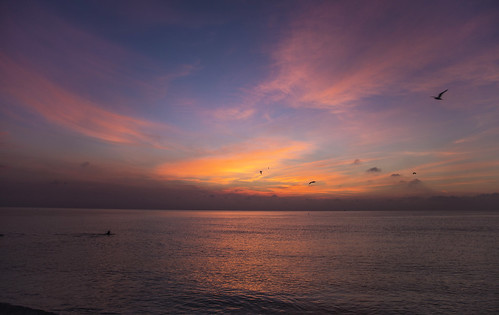 canon6d ocean seascape landscape beach coast sky clouds sunrise morning dawn outdoors nature miami florida usa