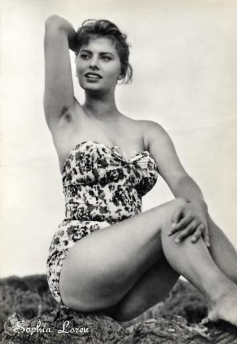 Sophia Loren in Peccato che sia una canaglia (1954)
