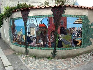 Wall art in Denmark