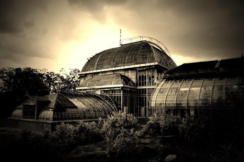 Serres du jardin des plantes de Nantes | jardins.nantes.fr/N… | Flickr