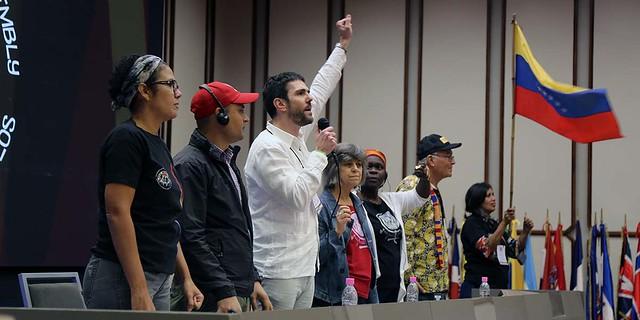 Asamblea Internacional de los Pueblos cierra con manifiesto en defensa de la soberanía de Venezuela