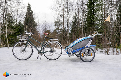 Pelago Airisto + Thule Chariot 2 | by HendrikMorkel