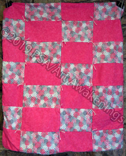 ''Infant/Toddler Lap Quilt #2'' by Tina S, quilt, $60.00 | by Art Awakenings