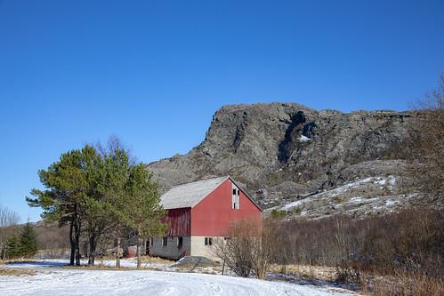 nordland norway sømna farm ramntinden barn