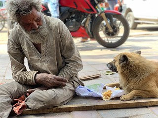 City Moment - Two Houseless Friends, Turkman Gate | by Mayank Austen Soofi