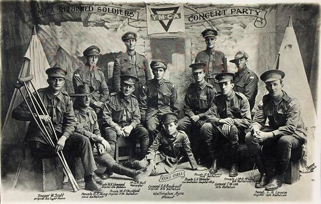 YMCA Returned Soldiers Concert Party - 1917