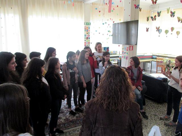 Ο Όμιλος Εθελοντισμού στο ΙΠΕΚΒΕ