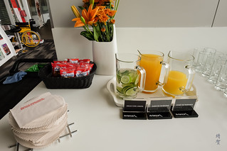 Juices and packaged snacks | by A. Wee