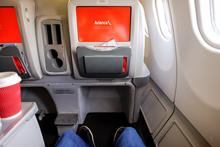 Legroom in the A330 | by A. Wee