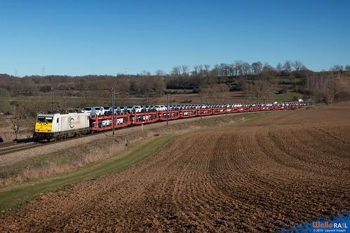 186 165 db cargo nl ligne 24 wonck 24 fevrier 2019 laurent joseph www wallorail be