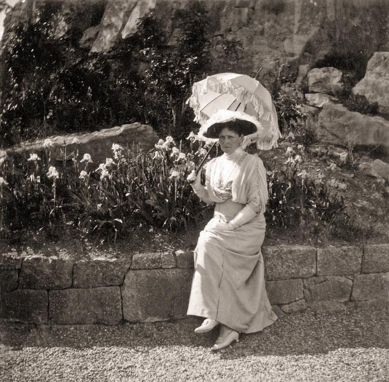 Empress Alexandra Feodorovna . Crimea.1914.