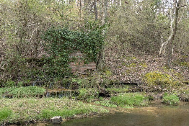 Spring house on unnamed creek, Putnam County, Tennessee