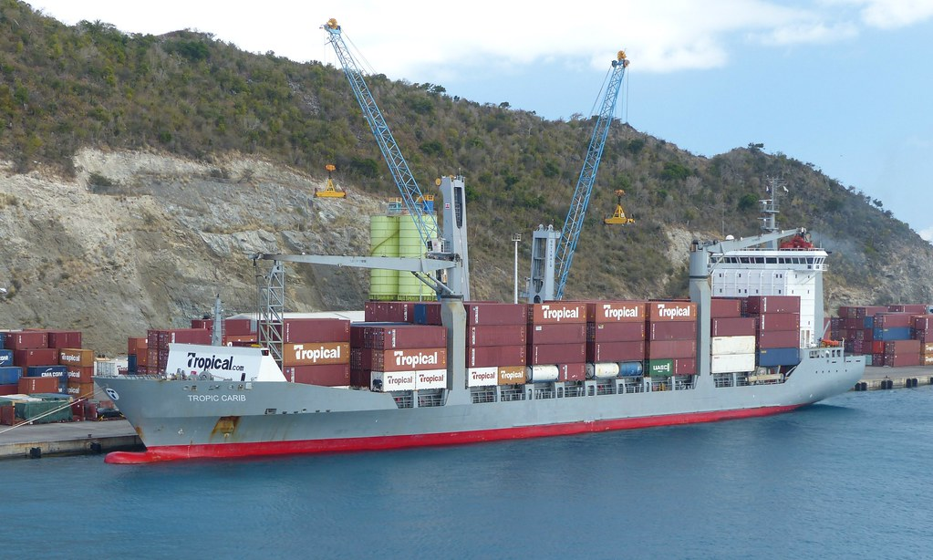 Tropic Carib at Philipsburg (2) - 17 March 2019   The cargo