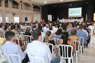 Abertura da 23ª edição do Ciclo de Debates com Agentes Políticos e Dirigentes Municipais do Tribunal de Contas do Estado de São Paulo (TCESP), realizado em Mogi Guaçu, no dia 28/03/2019.