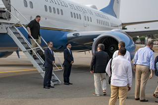 Secretary Pompeo Arrives in Cucuta