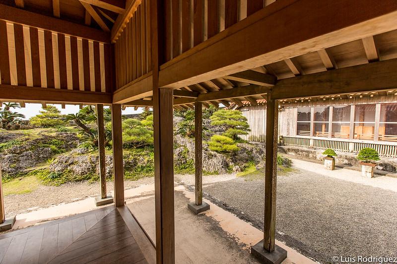 Jardín visto desde el Shoin-Sasunoma