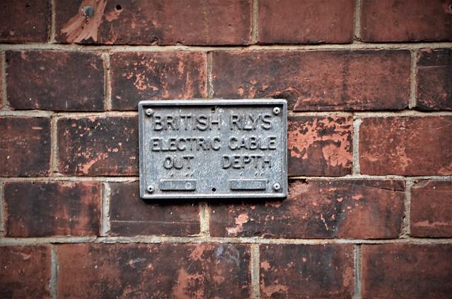 British Railways plate