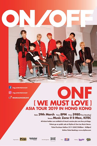 ONF WE MUST LOVE IN HK | by sgXCLUSIVE