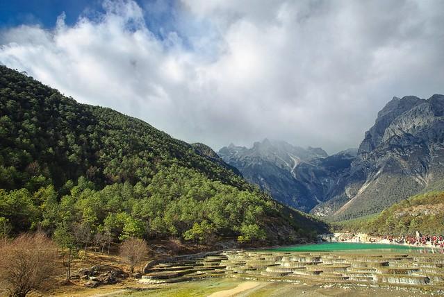Yulong Snow Mount in Lijiang, China