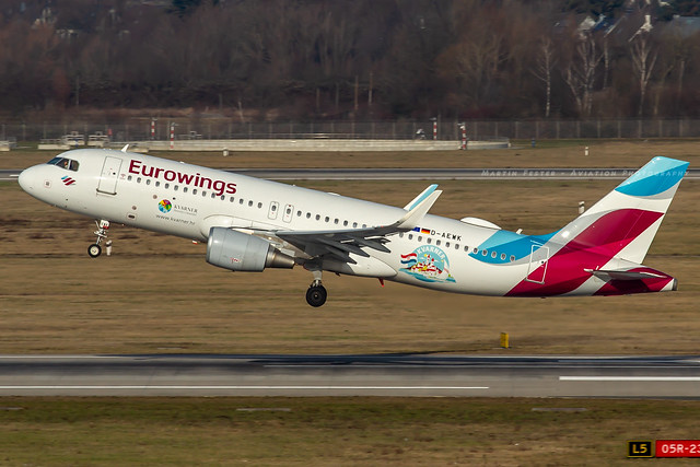 D-AEWK // Eurowings // A320-214(WL)